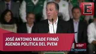 Meade y PVEM presenta su Plataforma Electoral 2018-2024