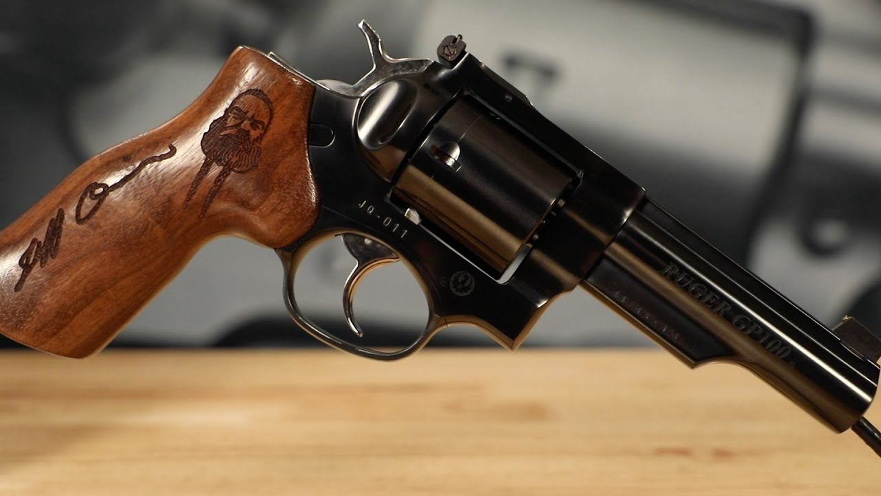 Lipsey's Exclusive: Jeff Quinn Tribute - Ruger GP100 44 Special