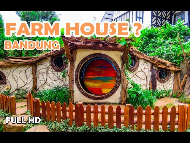 Farmhouse Lembang Di Bandung Harga Tiket Masuk Peta Dan Fasilitas