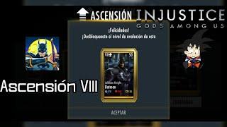 Injustice Android Ascención de Oro Batman Arkham Knight Elite VIII