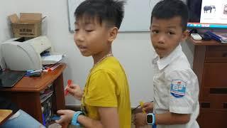 Dart game - Phong ft Xuân Hải, Huy ft Phương - Ms Jenny's class