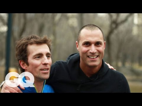 Photographer Nigel Barker  America's Next Top Model Judge  GQ's Jogging with James