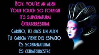 Katy Perry - E.T. Traducida Ingles/Español