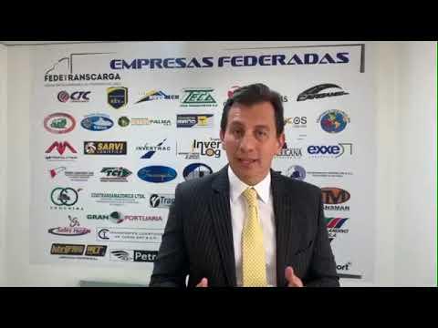 Henry Cárdenas, presidente de Fedetranscarga, se refiere a la coyuntura actual del Paro Nacional.