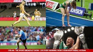 WATCH | Tuesday's #OTBAM - Episode 200: McCaffrey, McGregor, Conor Nash and Ciara Mageean interviews
