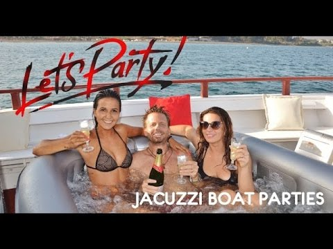 Jacuzzi boat party in Marbella, Malaga - Sea Experience boat