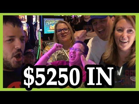 🎰👫 $5250 Group Slot Pull ✦ HIGH LIMIT At Cosmopolitan Las Vegas ✦ Slot Machine Pokies W Brian C