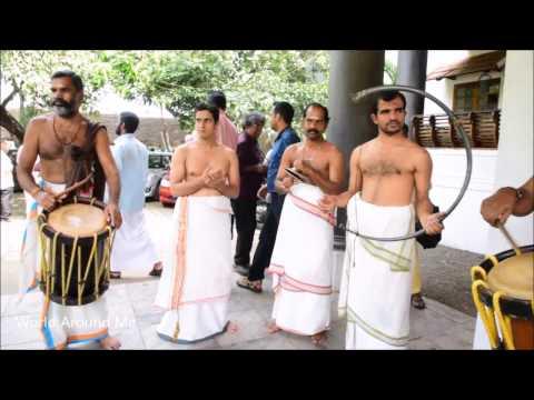 Panchavadhyam Instruments Timila, Maddalam, Ilathalam  Idakka and kombu