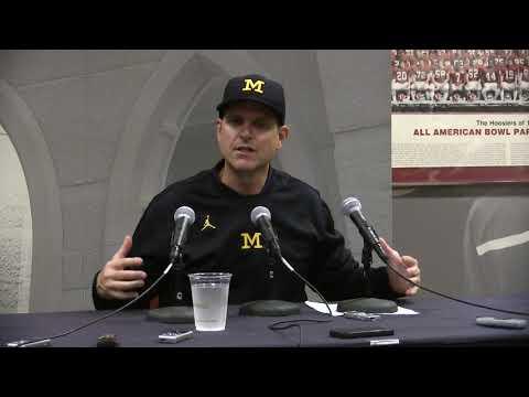 Jim Harbaugh talks youth of team