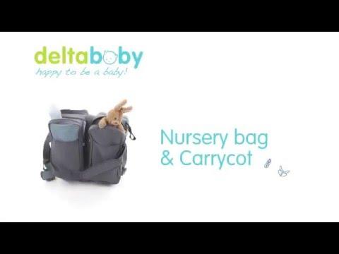3 in 1 Baby Cot Bag