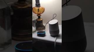 Hey Alexa, tell Google to play some music
