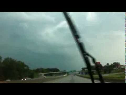 Driving into Tornado going West on I30 from Little Rock AR Sept 2012 G