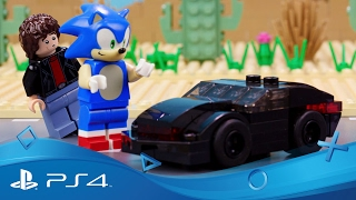 Lego Dimensions | Meet That Hero: Sonic Introduces Knight Rider | Ps4