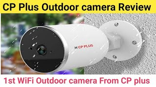 Cp plus wireless Outdoor CCTV cameras Review & Recommendation in Hindi