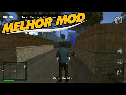 WAAU! MELHOR MOD DE GTA V/5 PARA GTA SAN ANDREAS!