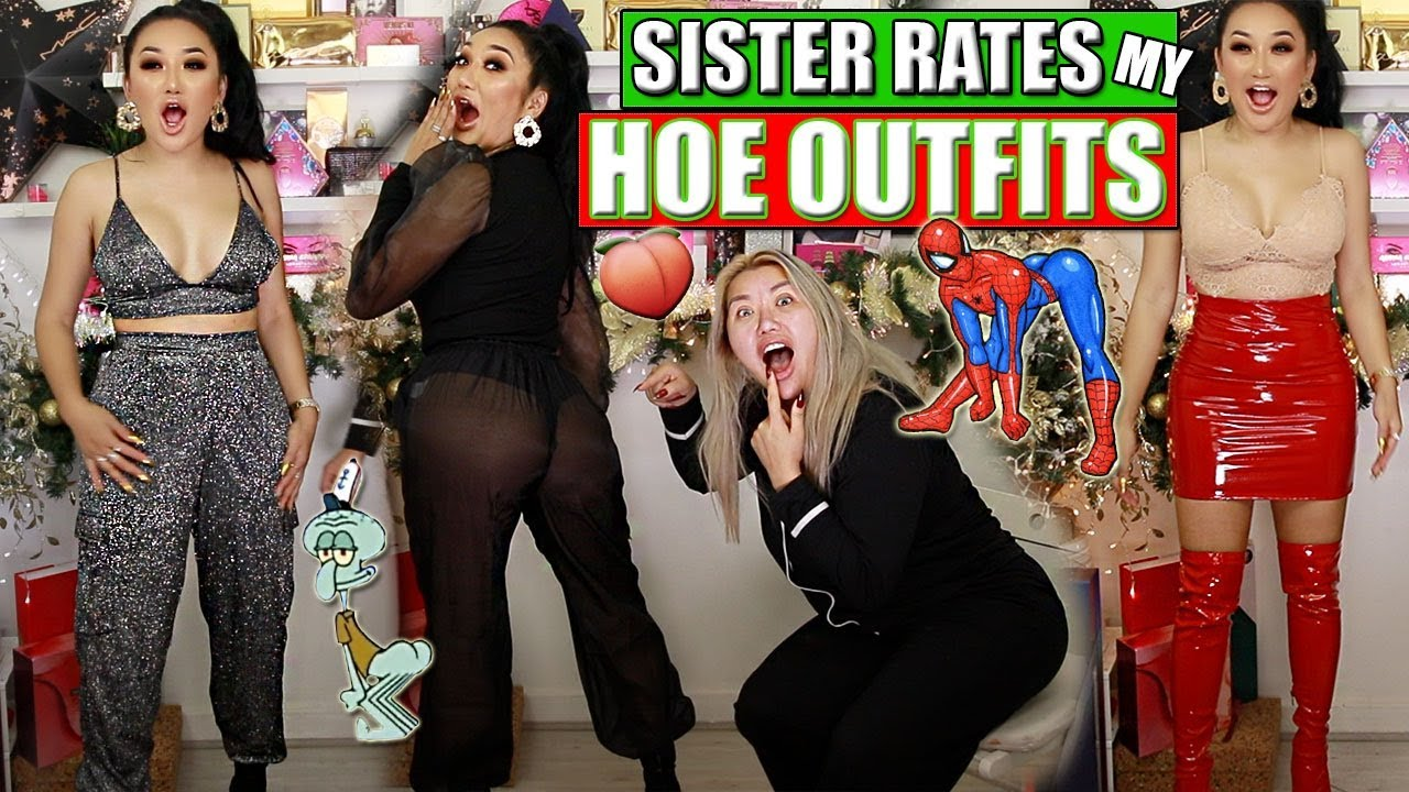 [VIDEO] - SISTER RATES MY EXTRA AF PARTY OUTFITS *FUNNY AF* || MISSGUIDED HAUL 1