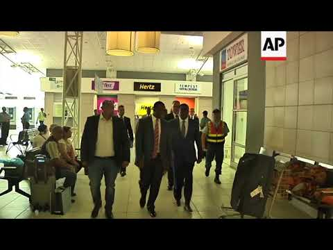 ONLY ON AP: Mnangagwa prepares to leave SAfrica for Harare