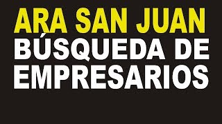 ¿Qué EMPRESAS BUSCARÍAN al ARA San Juan