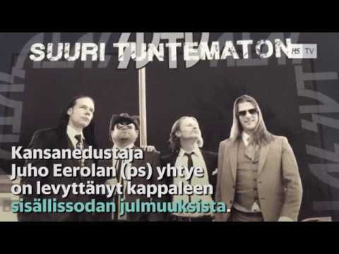 """Juho Eerolan (PS) bändin levyllä lauletaan """"punahuorasta"""""""