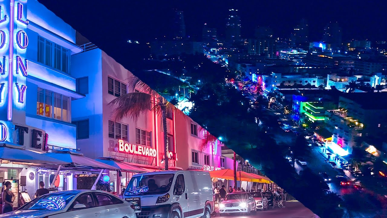 South Beach Miami Drone Phantom 4 Pro 4k Florida Canon 1dxii Travelog Lifestyle