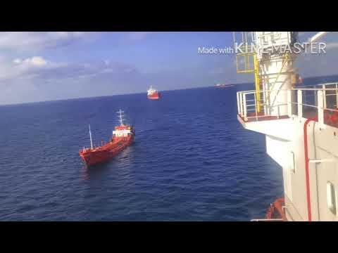Bunker vessel arrived