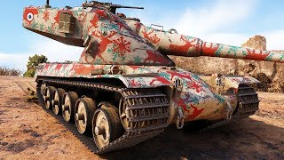 AMX 50 B - Press 1 to Win - World of Tanks Gameplay
