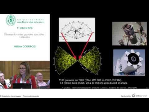 [Conférence] H. COURTOIS - Observations des grandes structures : Laniakea
