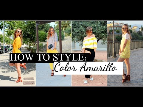 HOW TO STYLE: COLOR AMARILLO // YELLOW TREND LOOKBOOK