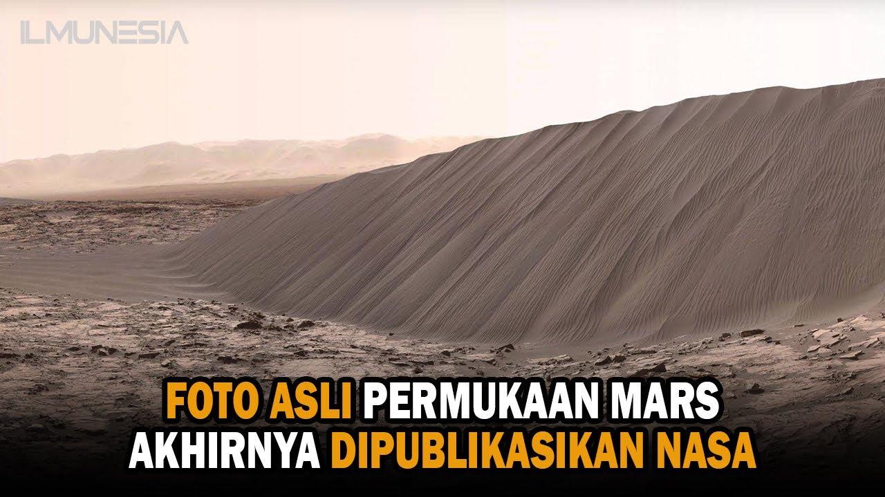 TERBARU !! FOTO ASLI PERMUKAAN PLANET MARS
