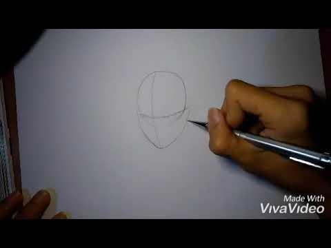 Drawing Sasuke Uchiha / hướng dẫn vẽ Uchiha Sasuke trong naruto