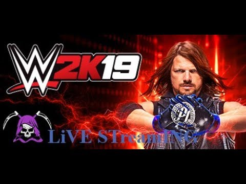 WWE 2k19//PUGJE GAMING Playing Games For Fun...Lets Break The Record!
