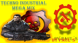 techno industrial mega mix