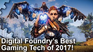 Digital Foundry's Best Gaming Tech of 2017!