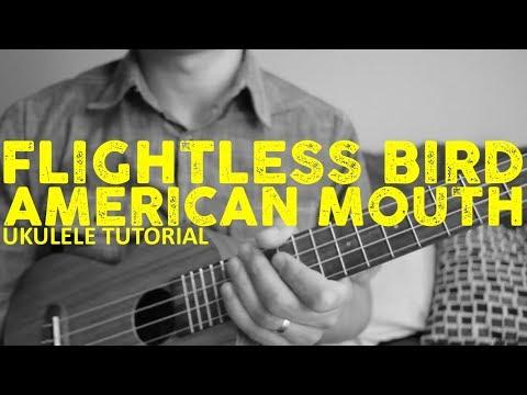 Iron & Wine - Flightless Bird American Mouth - Fingerpicking Ukulele Tutorial - Chords - How To Play