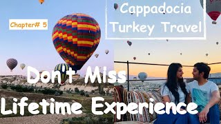 How To Plan Hot Air Balloon Ride | Cappadocia Turkey | Travel Vlog | Desi Couple On The Go