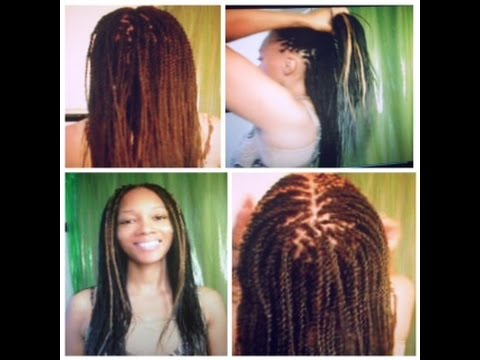 Tutorial How To Do Long Amp Thin Senegalese Twists With