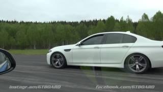 Schmiedmann BMW M3 JB4 ECU (475 RWHP) vs F10 BMW M5 Mk II facelift 560 HP