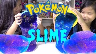 DIY Galaxy Slime Giant Surprise Eggs Pokemon Toys - Kids' Toys