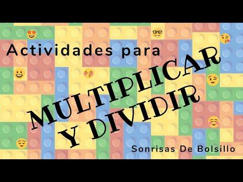 Actividades Para Multiplicar Y Dividir