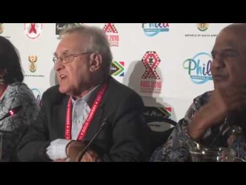 Stephen Lewis, Co-Director, AIDS Free World speaks on conspiracy against AIDS treatment.