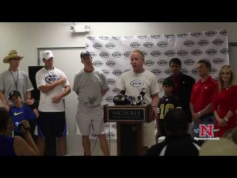 Manning Passing Academy Press Conference