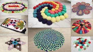 8 Beautiful Doormat Ideas !!! DIY Handmade Things !!! Old Clothes Reuse