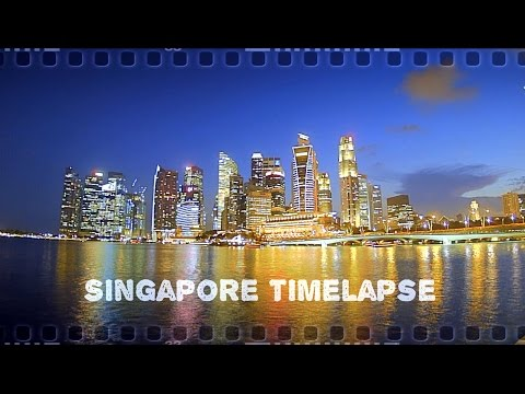 Singapore Timelapse Travel Video