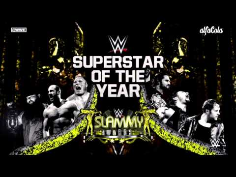 WWE: Slammy Awards 'Superstar Of The Year' -