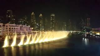 Dubai Fountain 2015 Whitney Houston I will always love you Full HD