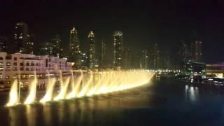 Dubai Fountain 2015 Whitney Houston I will always love you Full HD