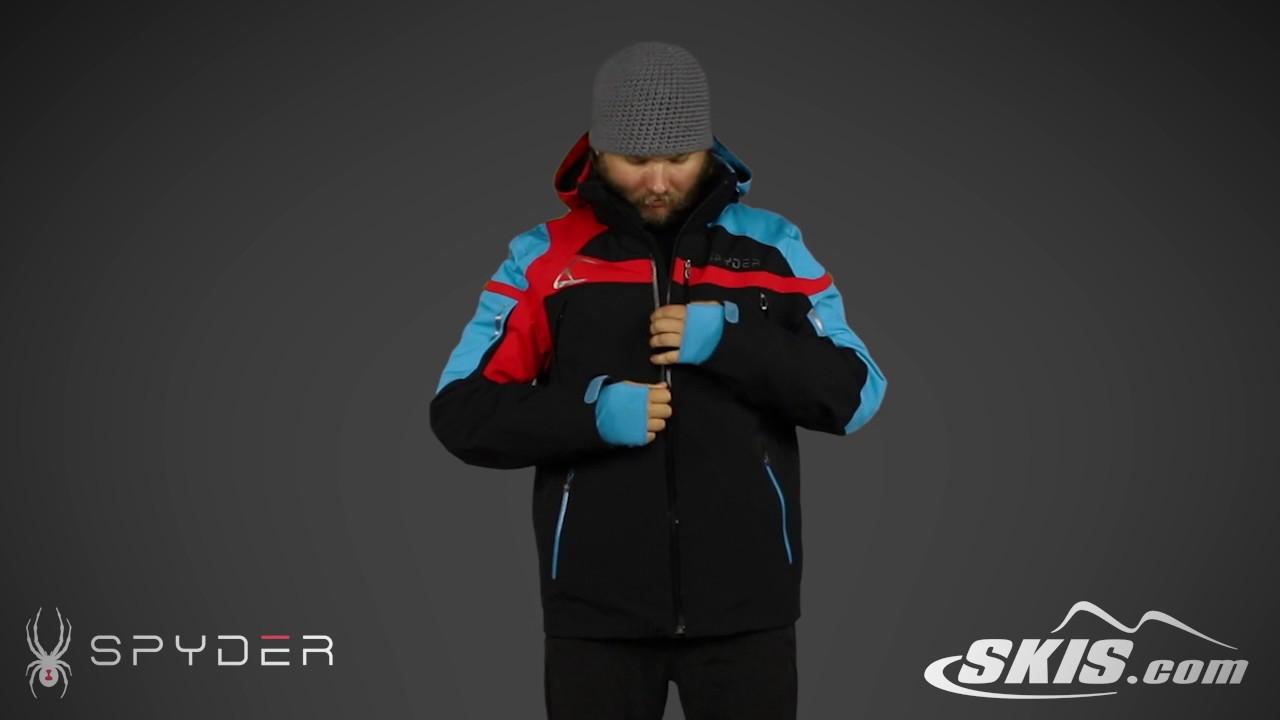 2017 Spyder Titan Mens Jacket Overview by SkisDotCom - YouTube 9e07af88a6f