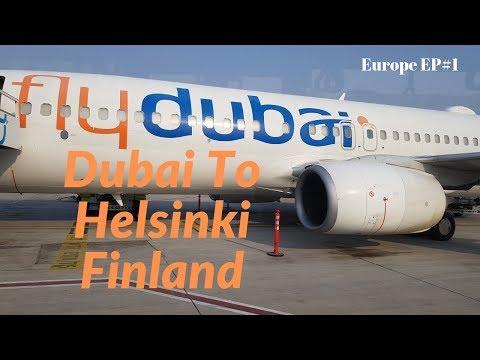 Dubai To  Helsinki Finland Fly Dubai Flight