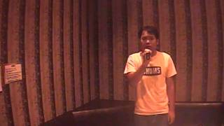 Drunk singer Yasu karaoke いい日旅立ち 山口百恵