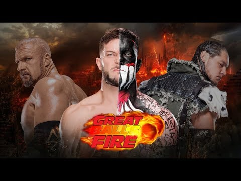 WWE 2K18 - Universe: #19 - GREAT BALLS OF FIRE PPV (PARTE 01)